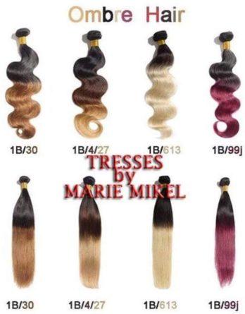 Ombre Color Weave