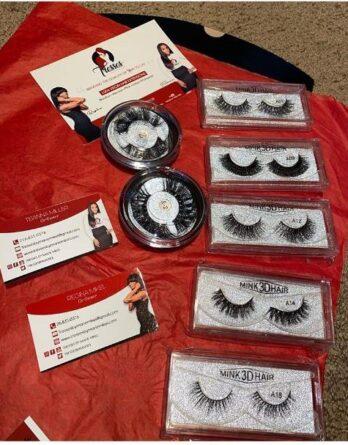 Mink 3D or 25MM Eyelashes